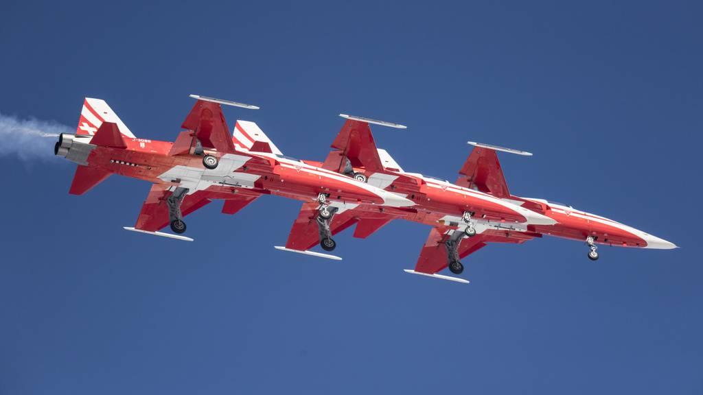 Auch die Patrouille Suisse gibts am Airfestival zu sehen.