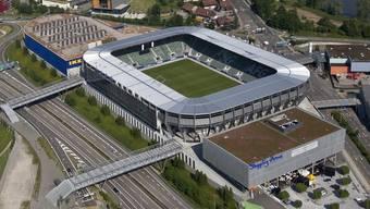 Die AFG-Arena in St. Gallen ist verschuldet (Archiv)