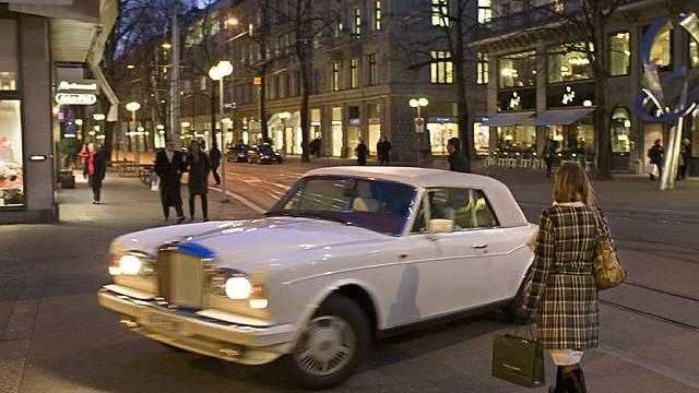 Luxus an der Zürcher Bahnhofstrasse (Symbolbild)