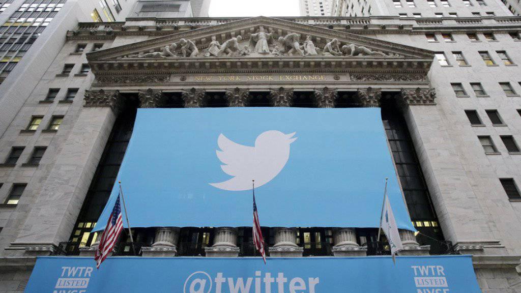 Twitter: erstmals ein Gewinn - Nutzerzahl mit  330 Millionen stabil. (Archiv)