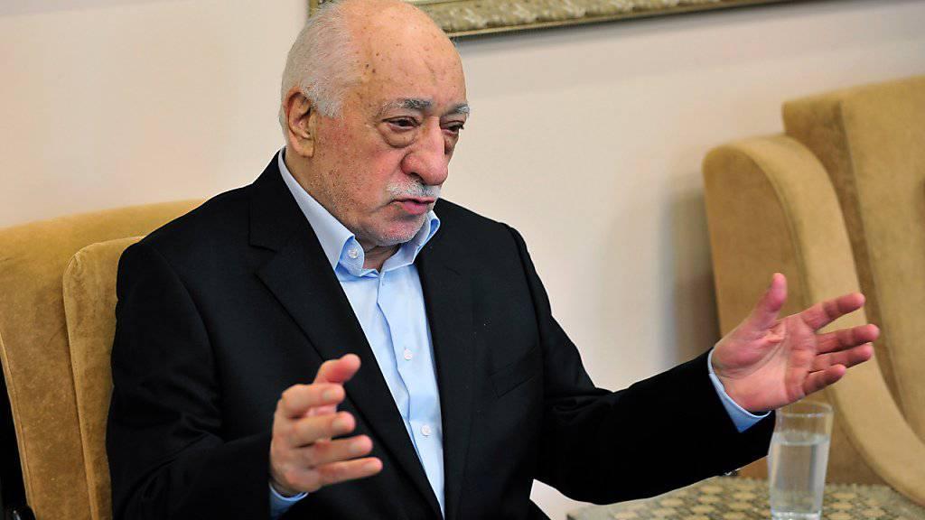 Der muslimische Prediger Fethullah Gülen sagte in einem Interview, dass er sich notfalls von den USA an die Türkei ausliefern lassen wolle. (Archivbild)