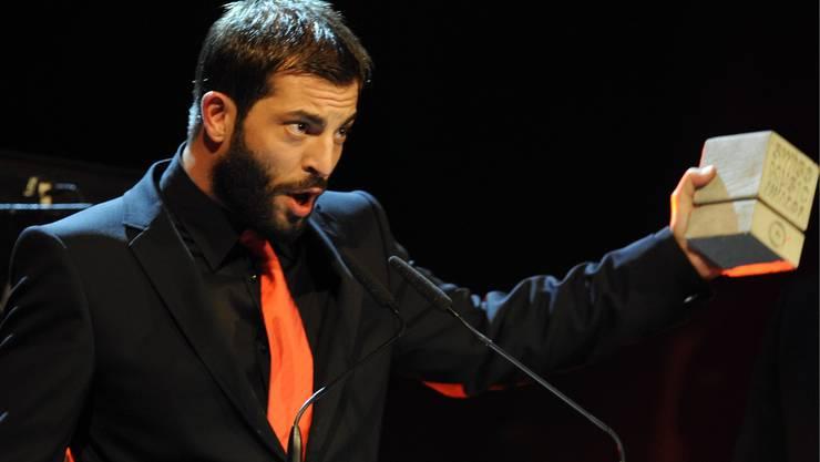 Bligg gewann gleich zwei Awards - den für den besten Song und den fürs beste Album Urban National