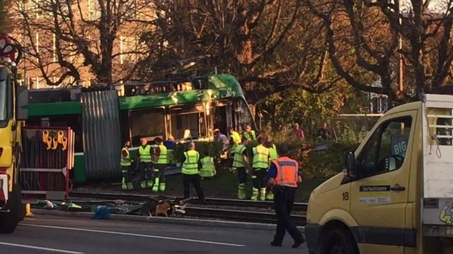 Unfall in Muttenz 18.10.2017