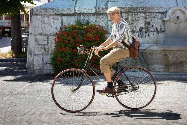«Fahren wie früher: Das macht für mich den Reiz aus», so Amoser.