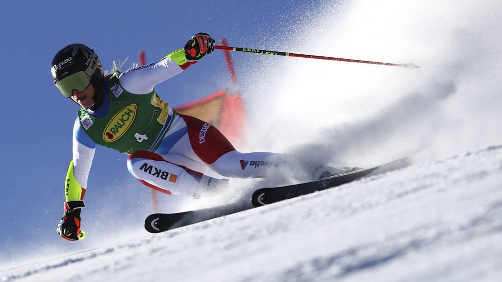 Gut-Behrami fährt auf den zweiten Platz - Shiffrin mit 70. Weltcupsieg