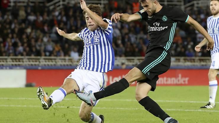 Borja Mayoral erzielte seinen ersten Treffer im Fanionteam von Real Madrid