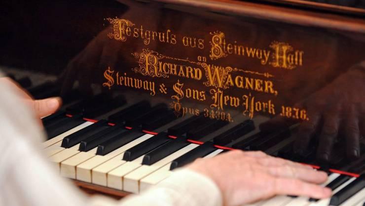 Ein Ausstellungsstück, das ab 26. Juli wieder im Richard-Wagner-Museum in Bayreuth zu besichtigen ist (Archiv)