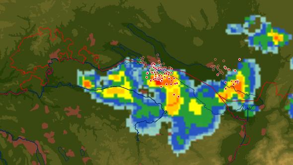 Kühle Überraschung: Gewitter zieht über die Ostschweiz