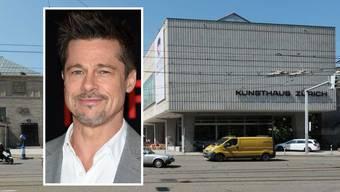 Brad Pitt hat am Donnerstag Zürich besucht – inkognito.