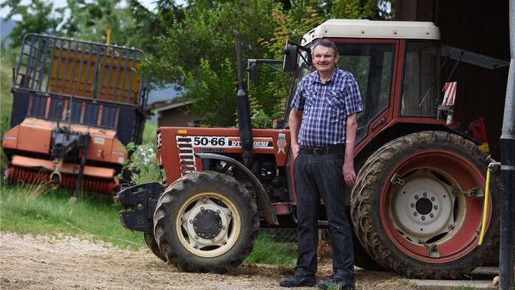 «Gegen Ernteausfälle gibts in der Schweiz keine Versicherung», beklagt Andreas Haas.Juri Junkov