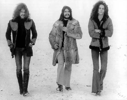 Toad 1971: Werni Fröhlich, Cosimo Lampis  und Vic Vergeat.