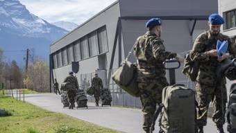 Die Armee hilft den Kantonen, die sie rufen.