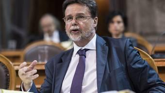 """""""Asylsuchende so behandeln, wie wir in dieser Situation gerne behandelt würden"""": Robert Cramer (Grüne/GE) äussert sich in der Asyldebatte im Ständerat"""