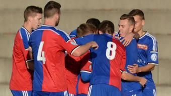 Der FC Basel U21 holt sich den zweiten Saisonsieg. (Archivbild)