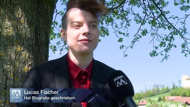 Lucas Fischer hat mit 26 Jahren eigene Biografie