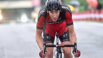 Stefan Küng während des Giro d'Italia, bei dem er sich später einen Brustwirbelbruch zuzog und deshalb mehrere Monate pausieren musste.freshfocus
