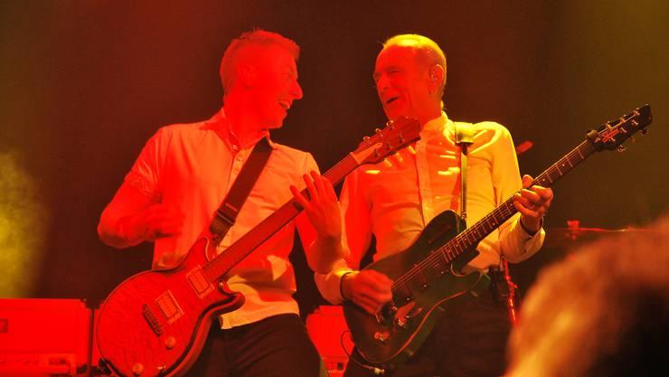 Staus Quo rockt die Bühne auf dem Schupfart-Festival