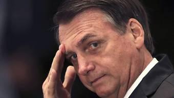 """""""Ich würde Sie nicht vergewaltigen, Sie verdienen es nicht"""", hatte der brasilianische Präsident Bolsonaro 2003 zu einer linken Parlamentarierin gesagt. (in einer Aufnahme vom 3. Mai 2019)"""
