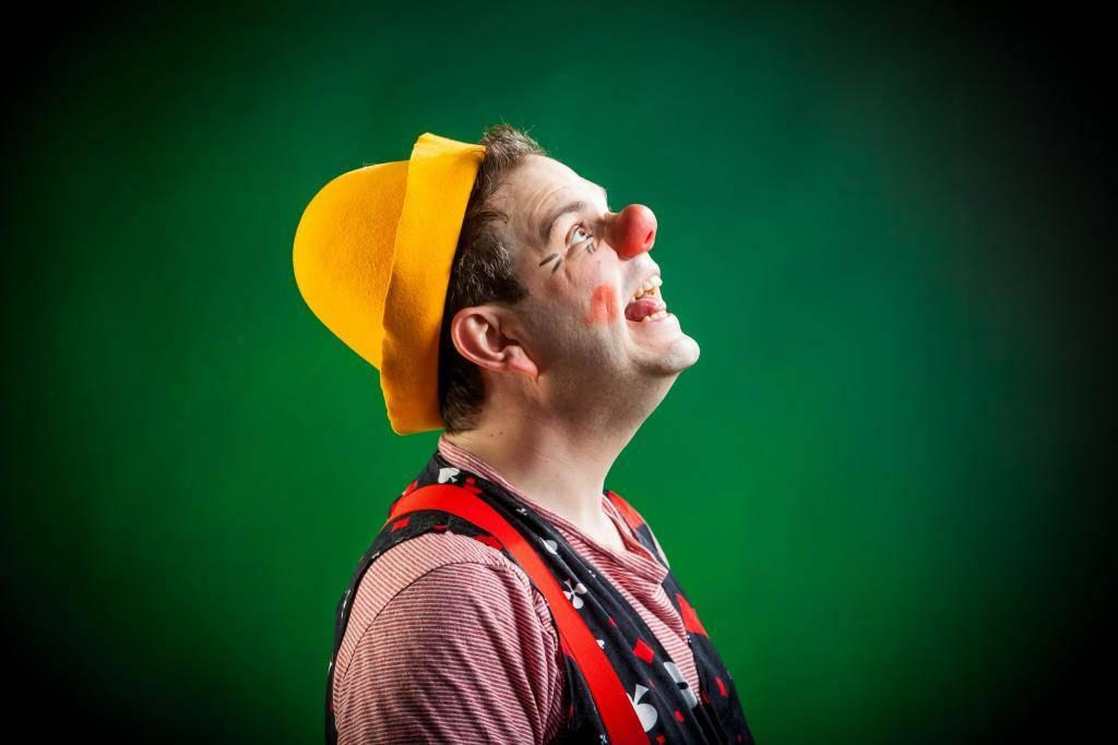Alexander Ott: Der Clown (© zVg / Daniel M. Frei)