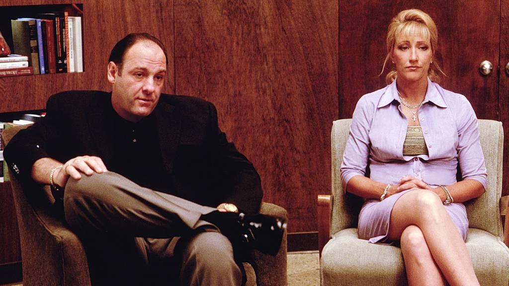 Tony Soprano ist ein mächtiger Mafiaboss, der zu einer Psychotherapeutin geht.