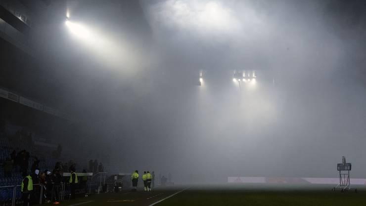 Am Samstag, 3. März, fiel im Stadion St. Jakobpark der Strom aus.