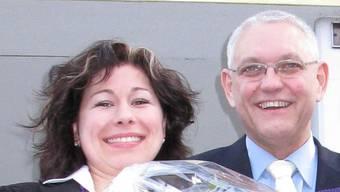 Im November 2009 hat Anja Bandi (hier mit Gemeindeammann Willy Schürch) ihre Stelle in Münchwilen angetreten – nun hat sie gekündigt. chr/archiv