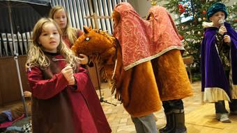 Andrew Bonds Weihnachtsgeschichte in Kirche Schlieren von Kinderchor aufgeführt