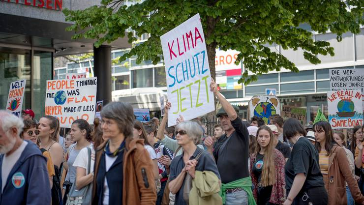 Klimademo am 24. Mai 2019 in St. Gallen