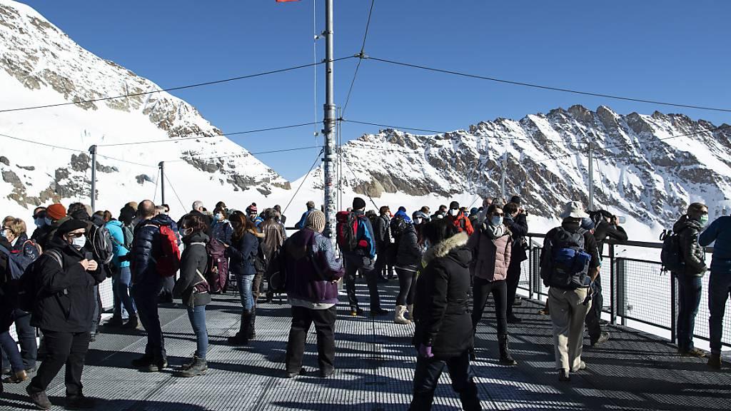 Historischer Rückgang bei Gästezahlen auf dem Jungfraujoch