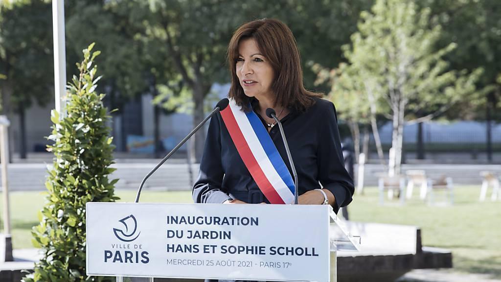 Anne Hidalgo, Oberbürgermeisterin von Paris Foto: Lewis Joly/AP/dpa