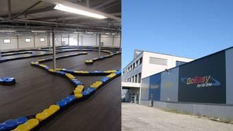 Die 4000 Quadratmeter grosse und unrentable Gokart-Halle der Freizeit- und Event-Anlage GoEasy ist als Sportzentrum für Ballspiele im Gespräch.