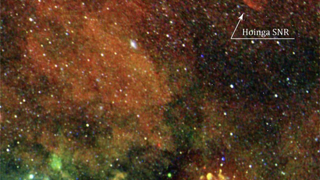 Weltraumteleskop enthüllt Sternexplosion an überraschendem Ort