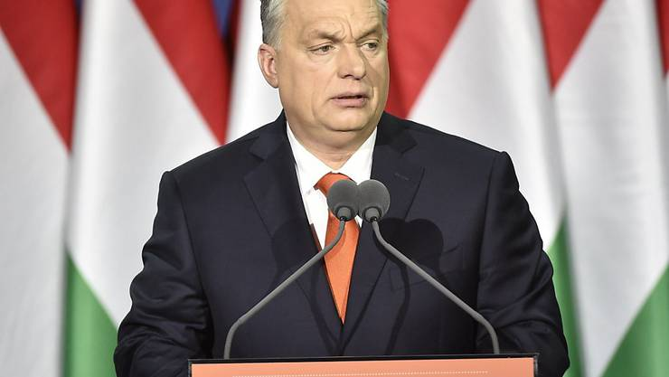"""""""Ungarn first"""": Ungarns Regierungschef Viktor Orban kritisierte in einer Rede zur Lage der Nation einmal mehr die Einwanderungspolitik in der EU."""