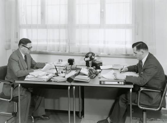 1938: Bruno Schluep steigt ins Familienunternehmen ein