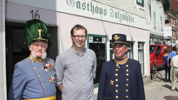 Andreas Kaufmann kam mit «Kaiser Franz Joseph» und einem seiner Bediensteten in engen Kontakt mit dem neu inszenierten Kaisertum.