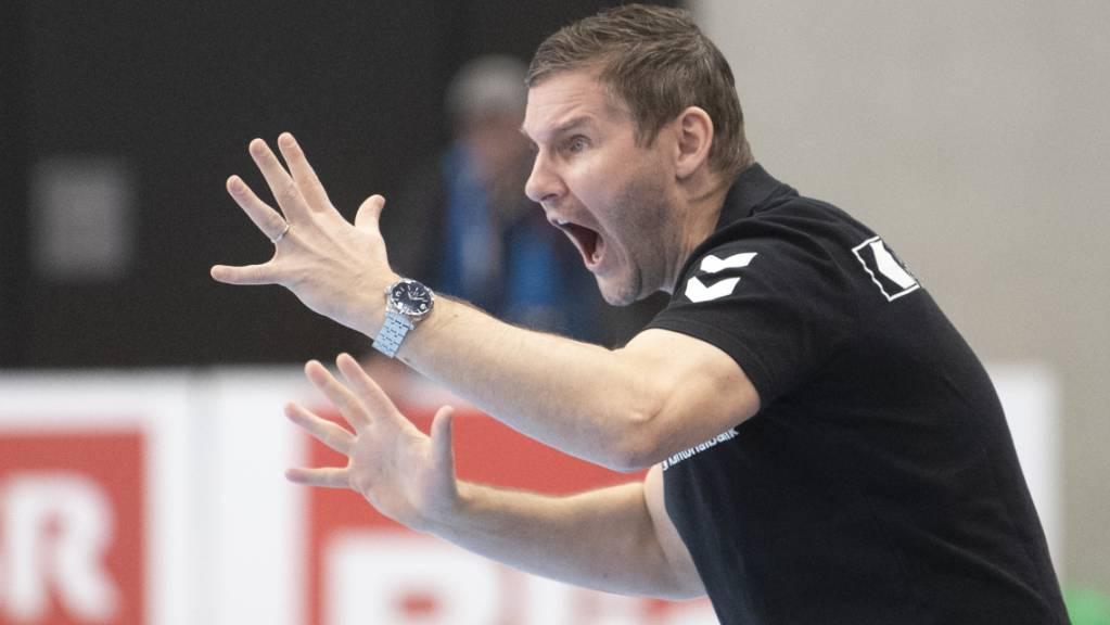 Ziel erreicht: GC Amicitias als «Feuerwehrmann» geholter Coach Petr Hrachovec schaffte mit den Zürchern den Ligaerhalt.