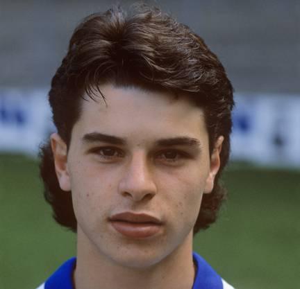 Ciriaco Sforza, hier 1987, im Dress von GC.