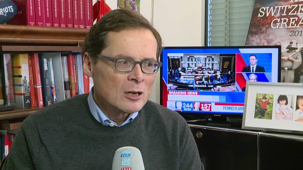 Schweizer Politiker erschüttert von US-Ausschreitungen