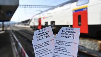 Mit der Tageskarte quer durch die Schweiz – per Ende 2023 wird das Angebot eingestellt.