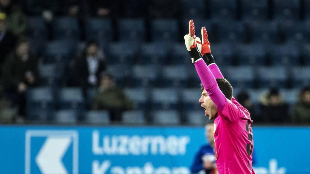 FCL-Goalie Marius Müller