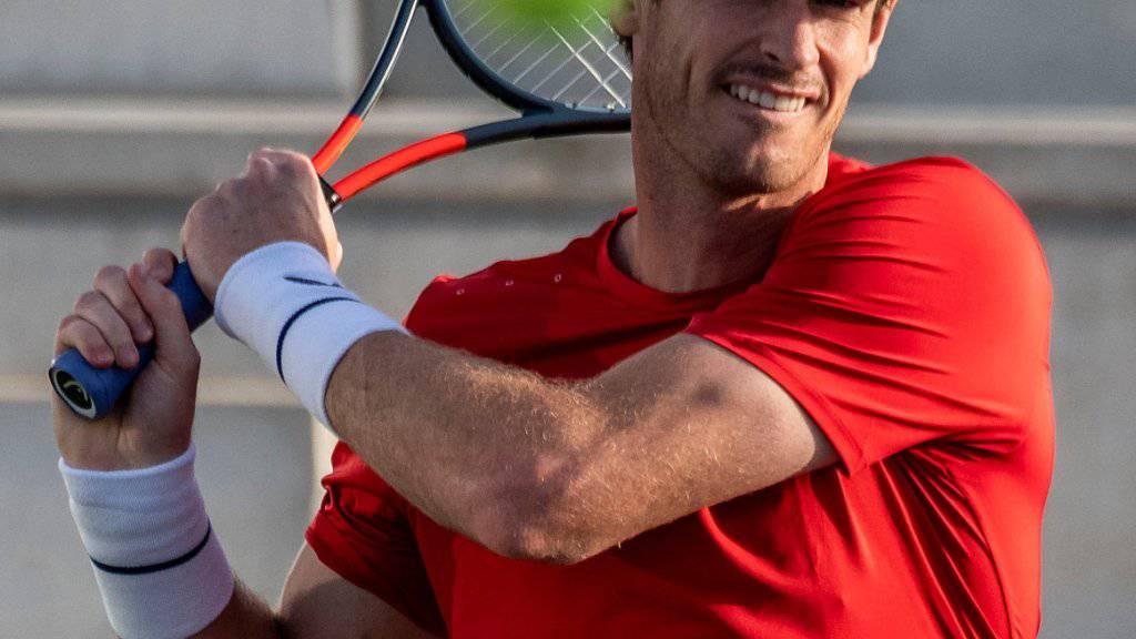 Andy Murray auch im Einzel mit einem Sieg