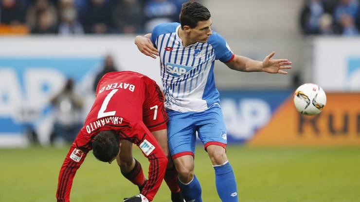 Bei Hoffenheim läuft es Schär momentan nicht nach Plan.
