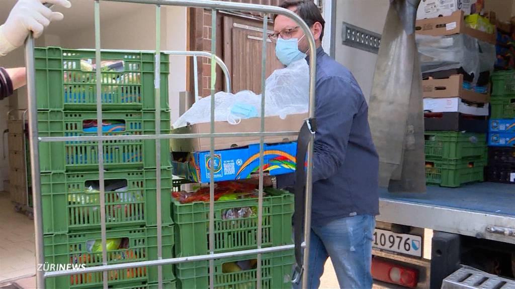 Corona-Armut: Hilfskette wegen explodierter Nachfrage am Anschlag