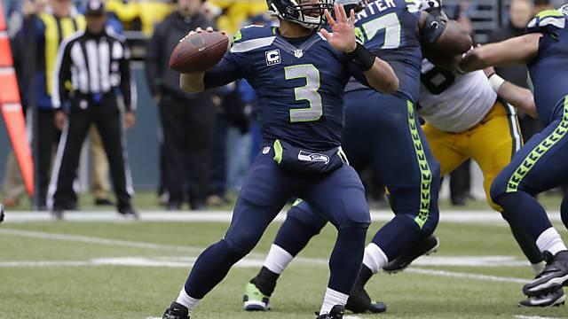 Mit Seattle zurück in der Super Bowl: Quarterback Russell Wilson