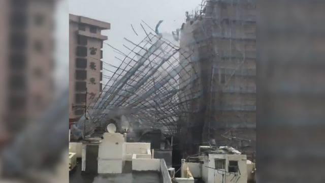 242 km/h: Hier fegt Mega-Taifun Mangkhut über Hongkong