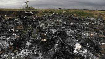 Absturzort der Malaysia Airlines-Maschine Anfang September