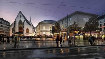 Das erweiterte Stadtcasino soll auch eine neue Konzert-Orgel erhalten.