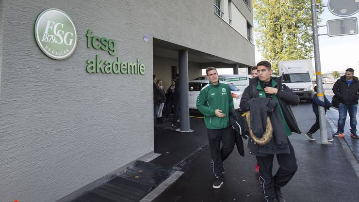 Anfang Oktober hat die Nachwuchs-Akademie des FC St. Gallen ihre Tore geöffnet.