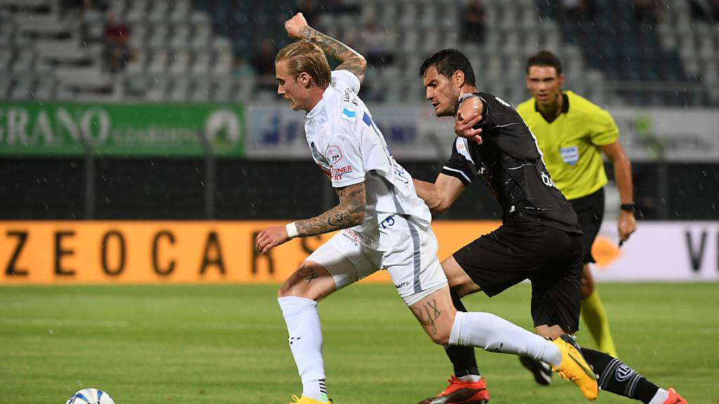 Luzern (nur) 45 Minuten lang wie gegen Basel