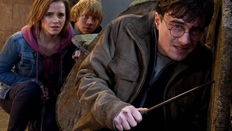 """Harry Potter (hier ein Ausschnitt aus """"Harry Potter and the Deathly Hallows - Part 2"""") ist erwachsen: Ab Samstag ist in London die Fortsetzung der Saga um den Zauberlehrling als Theaterstück zu sehen. (Pressebild)"""